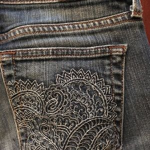 Lucky Brand | henna sweet & low bootcut jeans
